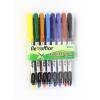 """FLEXOFFICE Tûfilc készlet, 0,3 mm, FLEXOFFICE """"FL01"""", 8 különbözõ szín"""