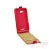 Flip szilikon belső Flip tok szilikon belsővel, Apple iPhone X, piros