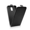 Flip szilikon belső Flip tok szilikon belsővel, Huawei Mate 9, fekete