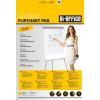 Flipchart papír Bi-Office 55g KOCKÁS 20 ív/csomag