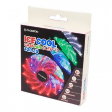 Floston ICE15 Ventilátor, 120 mm, 1300 RPM, Kék LED (ICE15Blue LED) hűtés