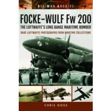 Focke-Wulf Fw 200 the Luftwaffe's Long Range Maritime Bomber – Chris Goss idegen nyelvű könyv