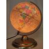 Földgömb, 25 cm átvilágító Antik Duó