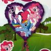 Fólia nagy lufi Little Pony szív alakú