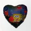 Fólia nagy lufi Spongyabob szív alakú