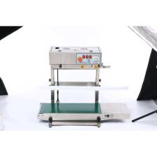 Folyamatos futószalagos vertikális fóliahegesztő, 600W - FR-450 hegesztés