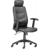 """. Főnöki szék, műbőrborítás, fekete lábkereszt, """"PHILADELPHIA"""", fekete"""