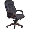 """. Főnöki szék, műbőrborítás, fekete lábkereszt, """"Buffalo PU"""", fekete"""