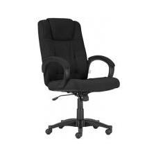 """. Főnöki szék, szövetborítás, fekete lábkereszt, """"MODUS"""" , fekete forgószék"""