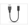 Fontastic USB Type-C OTG adatkábel - Type-C OTG 3.0 - fekete