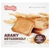 Foody arany kétszersült teljes kiőrlésű liszt felhasználásával 220 g