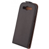 Forever Leather case Elegance Samsung Young 2 fekete