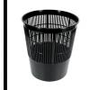 Fornax Papírkosár fekete rácsos műanyag falú 17 literes MOPLEN