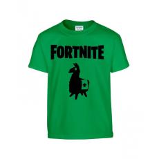 Fortnite Láma gyerek póló - zöld