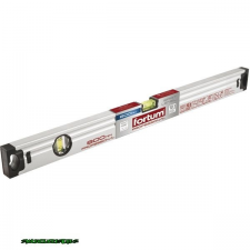 Fortum vízmérték 0,5mm/m pontos ( alu.) ; 600mm, elektronikusan kalibrált libella mérőszerszám