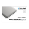 "Freecom SSD (külső memória), 256GB, USB 3.0,  ""Mobile Drive Mg"", ezüst"