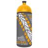"""FREEWATER Kualcs, higiénikus műanyagból, 0,7L,  """"Biciklis"""", antracit-sárga"""