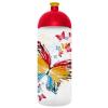 """FREEWATER Kulacs, higiénikus műanyagból, 0,7L, FREEWATER """"Pillangó"""", átlátszó"""