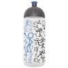"""FREEWATER Kulacs, higiénikus műanyagból, 0,7L, , """"Piktogram"""", áttetsző-kék"""