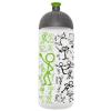 """FREEWATER Kulacs, higiénikus műanyagból, 0,7L, , """"Piktogram"""", áttetsző-zöld"""