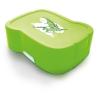 """FREEWATER Uzsonnás doboz, higiénikus műanyagból, FREEWATER """"Sárkány"""", zöld"""
