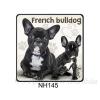 French Bulldog kutyás hűtőmágnes