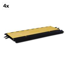 FrontStage CP-5CH, kábelhíd, 4 darabos szett, 5 csatorna, 20 tonna terhelhetőség, TPU, kábel és adapter