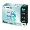 Fuji Film DVD-R 4.7GB 16x SLIM/vékony tokos, 10db