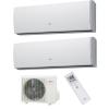 Fujitsu AYOG18LAC2/ ASYG09LUCA+ASYG12LUCA Inverteres Dual Oldalfali Split klíma szett
