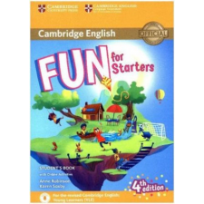 Fun for Movers (Fourth Edition) - Student's Book with online activities – Anne Robinson,Karen Saxby idegen nyelvű könyv