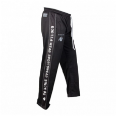 FUNCTIONAL MESH PANTS (BLACK/WHITE) [S/M]
