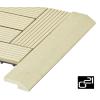 G21 szegélyléc WPC burkolócsempéhez - Cumaru, 38,5 x 7,5 cm, sarokba
