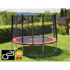 G21 trambulin biztonsági hálóval, 305cm, piros trambulin szett