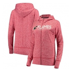 G-III Apparel Group Calgary Flames női pulóver pink Reciever Full-Zip Hoodie - L