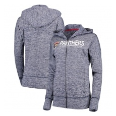 G-III Apparel Group Florida Panthers női pulóver grey Reciever Full-Zip Hoodie - XXL
