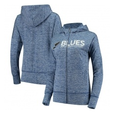 G-III Apparel Group St. Louis Blues női pulóver grey Reciever Full-Zip Hoodie - L