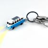 Gadget and Gifts VW Kisteherautós Kulcstartó LED Lámpával