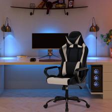 Gamer szék fekete-szürke színben forgószék