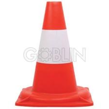 Ganteline Jelzõbója, 30 cm magas,piros-fehér munkavédelem