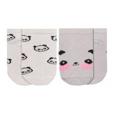 Garnamama lány zokni szett 2pár 28 - 30 fehér/szürke