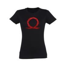 """Gaya God of War Zipper Girlie T-Shirt """"Serpent"""" XL férfi póló"""