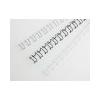 "GBC Spirál, fém, 14 mm, 130 lap, GBC ""MultiBind 21"",  fehér"