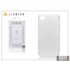 Gecko Apple iPhone 4/4S hátlap - Gecko Lianzoo Crystal 0,3 mm - milky white