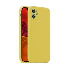 Gegeszoft Fosca Apple iPhone 12 Pro Max 2020 (6.7) sárga szilikon tok tok és táska