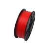 Gembird 3D nyomtatószál (izzószál) PLA, 1,75 mm, 1 kg fluoreszkáló piros