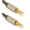 Gembird audio kábel Jack 3.5mm apa / Jack 3.5mm apa, 0.75m