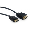 Gembird cable Displayport (M) - > VGA (M) 3m