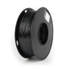 Gembird Filament Gembird POLYMER GLOSSY Silk Black ; 1;75mm ; 1kg