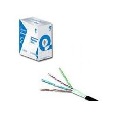 Gembird FTP kat.5e sodrott érpárú kábel, 305m, szürke kábel és adapter