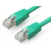 Gembird FTP kat.6 RJ45 patch kábel  3m  zöld